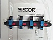 Siecor SC-SC SM 8-fiber duplex connector panel