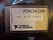 National Instruments PCMCIA-GPIB card for laptop computer.
