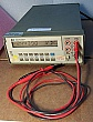 HP 3478A Digital multimeter, 5 1/2 digit. With HP-IB. with a pair of 3rd-party test leads