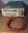 HP 3478A Digital multimeter, 5 1/2 digit. With HP-IB. with a pair of test leads