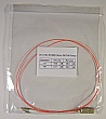 LC/PC-SC/PC 1-meter 62.5um MMF jumper, with 900um-buffered fiber. P/N: SX-LC/SC 62.5MM 0.9mm - 1m PVC Orange