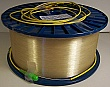 20.091km standard SMF bare fiber spool, older model than SMF-28, with two FC/APC connectors