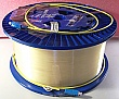 19.85km SMF-28 bare fiber spool, with 2 SC/PC connectors