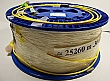 25.26km SMF-28 bare fiber spool, with 2 FC/APC connectors in 3mm cable. Loss is higher than new version, but still meets old specification.