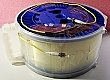 25.26km SMF-28 bare fiber spool, with 2 FC/PC connectors