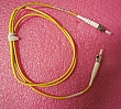 15 dB at 1550nm 1-meter ST-ST 3mm cable fiber jumper. FIS P/N: F1ATS15