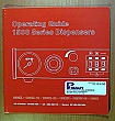 Moperating guide, 1500 series dispensers.   by  EFD