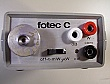 FOTEC C210L 1300nm Optical Power Tester. With FC fiber adapter. 'Sell As Is'
