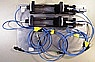 Variable Fiber Optic Delay Line for 1550nm, with manual micrometer and PMF. P/N: ODL-200-11-1550-9/125-P-40-3S3S-3-1. It may be reserved for Ottawa Univ