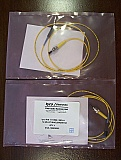MU-ST 1-meter SMF simplex patch cables, TYCO, UPC connector