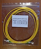 FC/APC-FC/APC 3-meter SM Fiber simplex jumper in 3mm cable, Corning SMF-28e fiber. Economical products. It may not match fiber connectors of other brands well. P/N:SX-FC/A-FC/A SM 3.0mm-3M PVC Yellow
