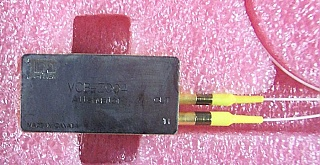 1550nm E-VOA(VCB attenuator), JDS P/N: VCB0-Z004. It comes with internal input and output detectors. With test data