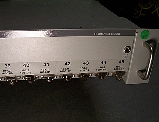 20mW L-band 100GHz DWDM lasers, 1592.95nm to 1605.74nm, laser can sell separately. Acquired from closed Bookham (Nortel laser group).